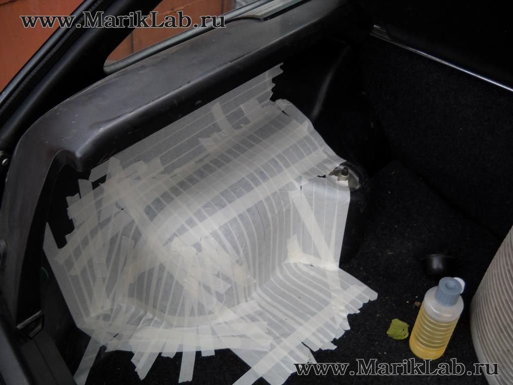 выклейка корпуса из стеклоткани в матрице