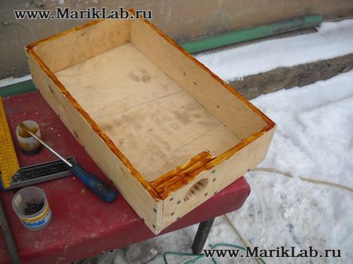 Как сделать герметичный ящик своими руками