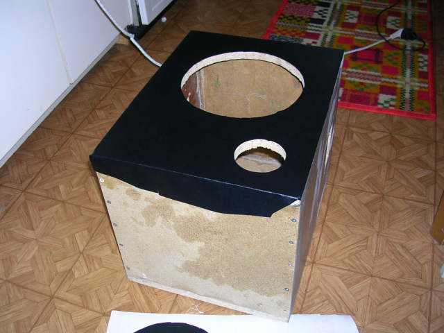 Обклейка корпуса сабвуфера